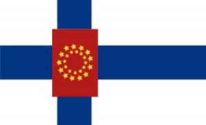 Euro-Suomen lippu