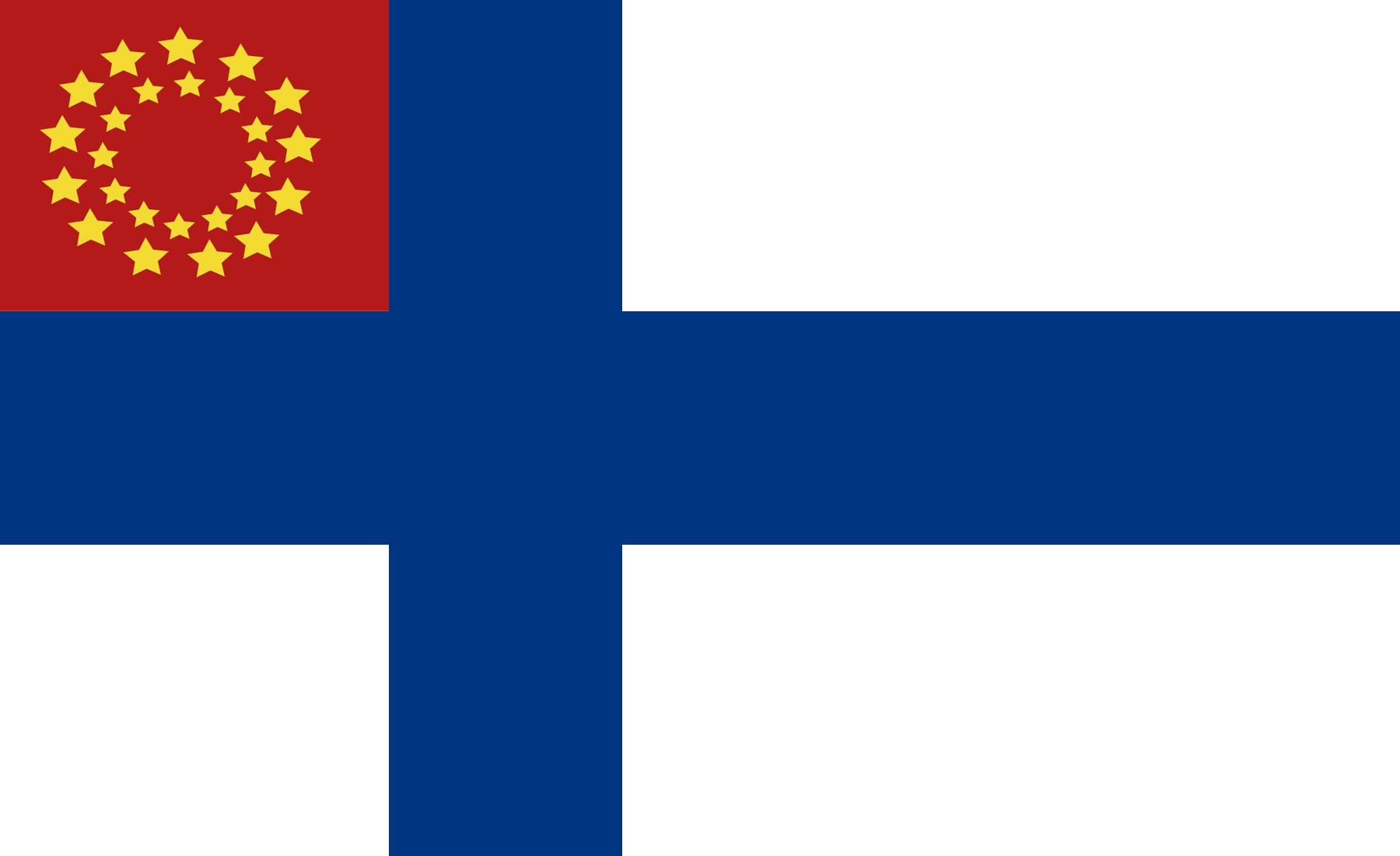 Euro-Suomi -liittovaltion lippu